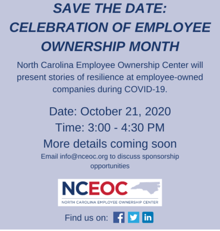Save the Date October Event